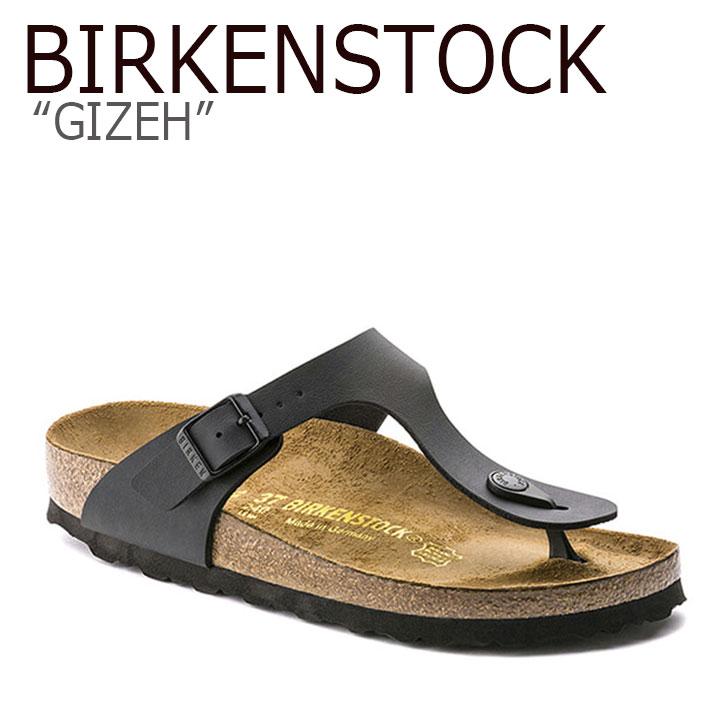 ビルケンシュトック サンダル BIRKENSTOCK メンズ レディース GIZEH ギゼ BLACK ブラック 043691 シューズ 【中古】未使用品