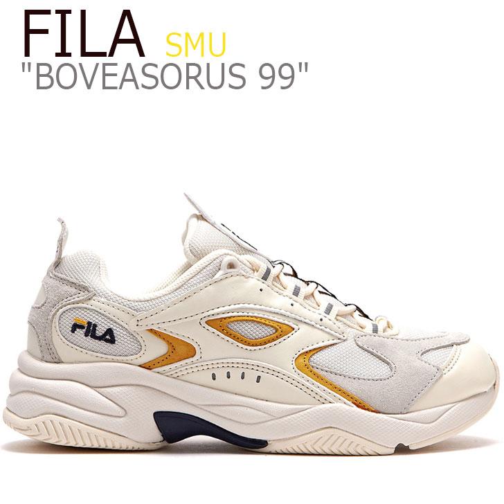 フィラ スニーカー FILA メンズ レディース BOVEASORUS 99 SMU ボビアソラス 99 IVORY アイボリー YELLOW イエロー FLFL9S1X14 FS1HTB3803X シューズ