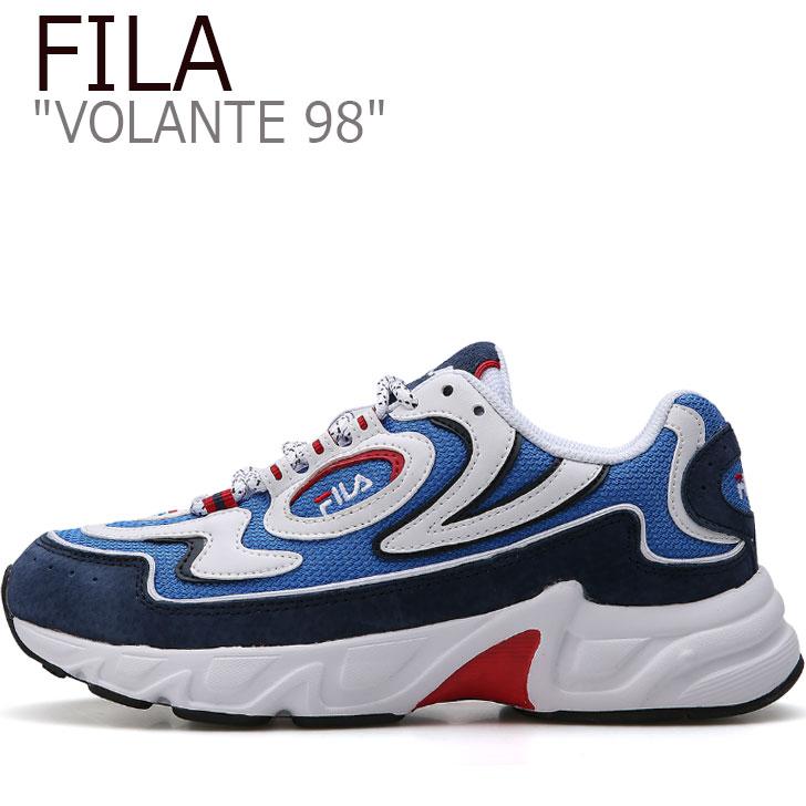フィラ スニーカー FILA メンズ レディース VOLANTE 98 ボランチ98 NEON BLUE ネオンブルー FS1HTB1173X シューズ