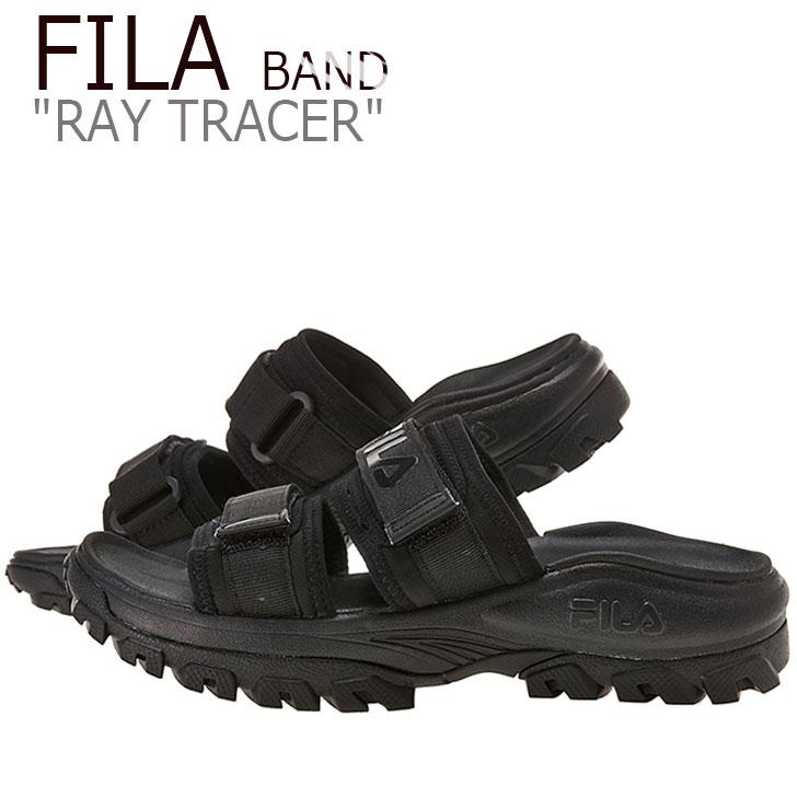 フィラ サンダル FILA メンズ レディース RAY TRACER BAND レイトレーサーバンド BLACK ブラック FS1SIB2030X シューズ