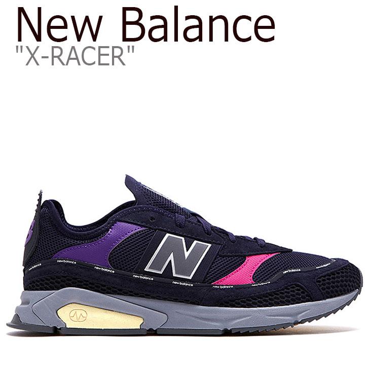 ニューバランス スニーカー NEW BALANCE メンズ X-RACER X-レーサー NAVY ネイビー MSXRCTLD NBPD9F733N シューズ 【中古】未使用品