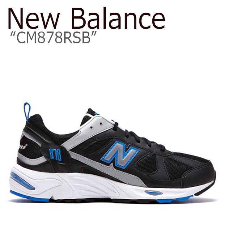 ニューバランス 878 スニーカー New Balance メンズ CM878RSB New Balance868 BLACK ブラック NBPD9S408B シューズ 【中古】未使用品