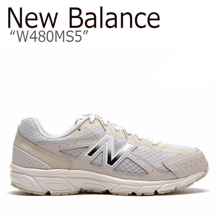 ニューバランス 480 スニーカー New Balance メンズ レディース W480MS5 New Balance480 IVORY アイボリー NBPF9S162I シューズ 【中古】未使用品