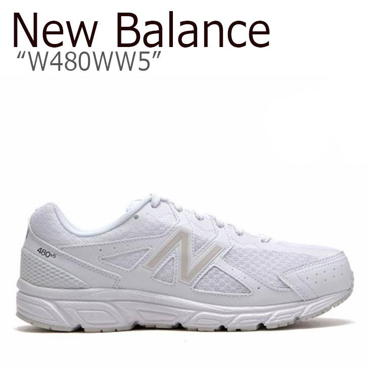 ニューバランス 480 スニーカー New Balance メンズ レディース W480WW5 New Balance480 WHITE ホワイト NBPF9S162W シューズ 【中古】未使用品