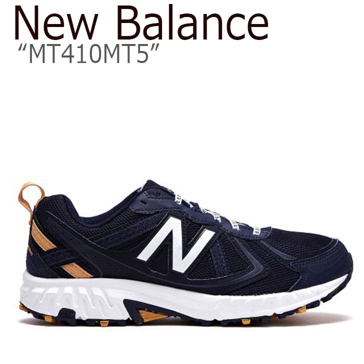 ニューバランス 410 スニーカー New Balance メンズ レディース MT410MT5 New Balance410 NAVY ネイビー NBPF9S163N シューズ 【中古】未使用品