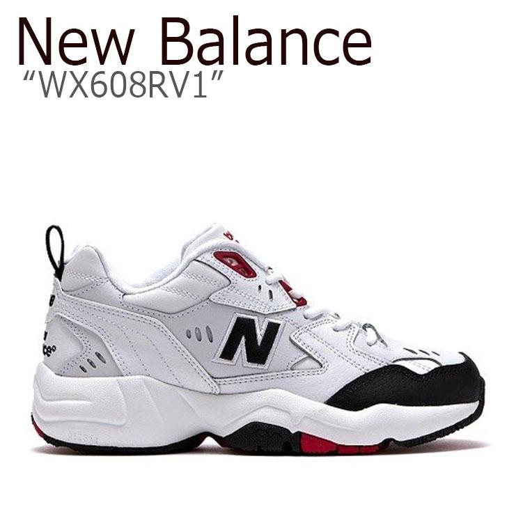 ニューバランス 608 スニーカー New Balance メンズ レディース WX608RV1 New Balance608 WHITE ホワイト NBPT9S401D シューズ 【中古】未使用品