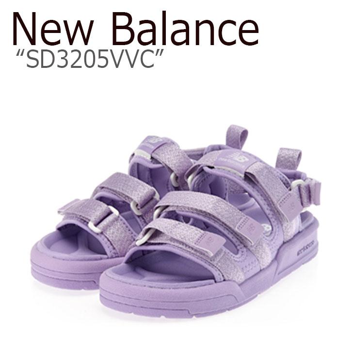 ニューバランス サンダル New Balance レディース SD 3205 VVC PURPLE パープル SD3205VVCYE2 シューズ 【中古】未使用品