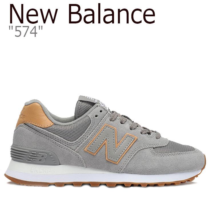 ニューバランス 574 スニーカー NEW BALANCE レディース new balance 574 ニューバランス574 GRAY グレー WL574JM シューズ 【中古】未使用品