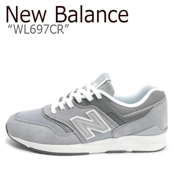 ニューバランス 697 スニーカー New Balance メンズ レディース WL 697 CR New Balance697 GRAY グレー WL697CR シューズ 【中古】未使用品