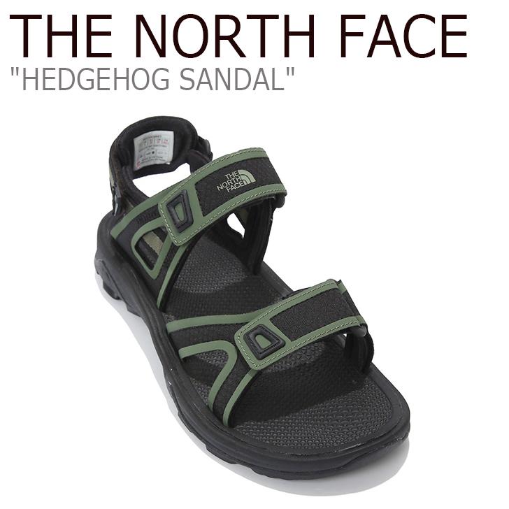 ノースフェイス サンダル THE NORTH FACE メンズ HEDGEHOG SANDAL ヘッジホッグサンダル スポーツサンダル BLACK ブラック NS98K40B シューズ 【中古】未使用品
