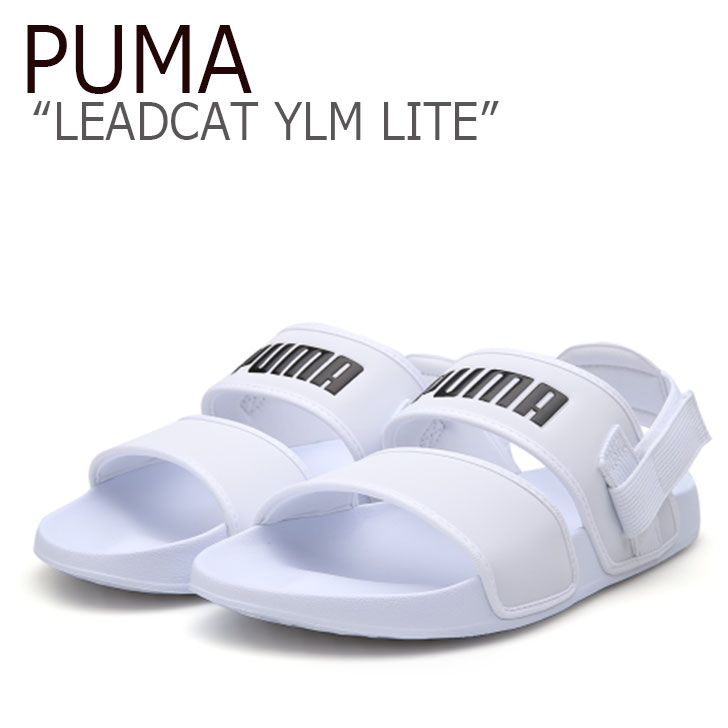 プーマ サンダル PUMA メンズ レディース PUMA×HYUNA LEADCAT YLM LITE リードキャット YLM ライト WHITE ホワイト 37073303 シューズ 【中古】未使用品
