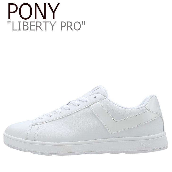 ポニー スニーカー PONY メンズ レディース LIBERTY PRO リバティ プロ WHITE ホワイト FPKNI3U65WW シューズ