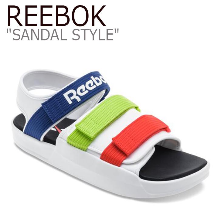 リーボック サンダル REEBOK レディース SANDAL STYLE サンダルスタイル スポーツサンダル BLUE REDO GREEN ブルー レッド グリーン EF8032 シューズ