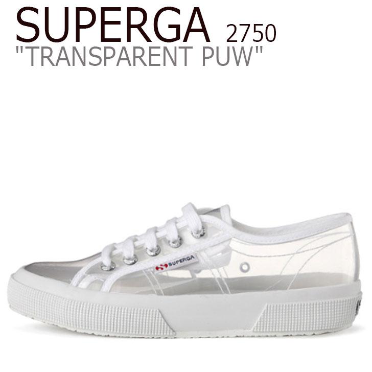 スペルガ スニーカー SUPERGA レディース 2750 TRANSPARENT PUW 2750 トランスペアレント PUW 白い ホワイト S00DGM0 シューズ