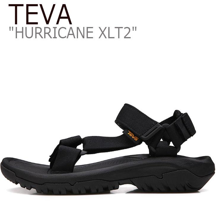 テバ ハリケーン サンダル TEVA メンズ HURRICANE XLT2 ハリケーンXLT2 BLACK ブラック 1019234-BLK シューズ