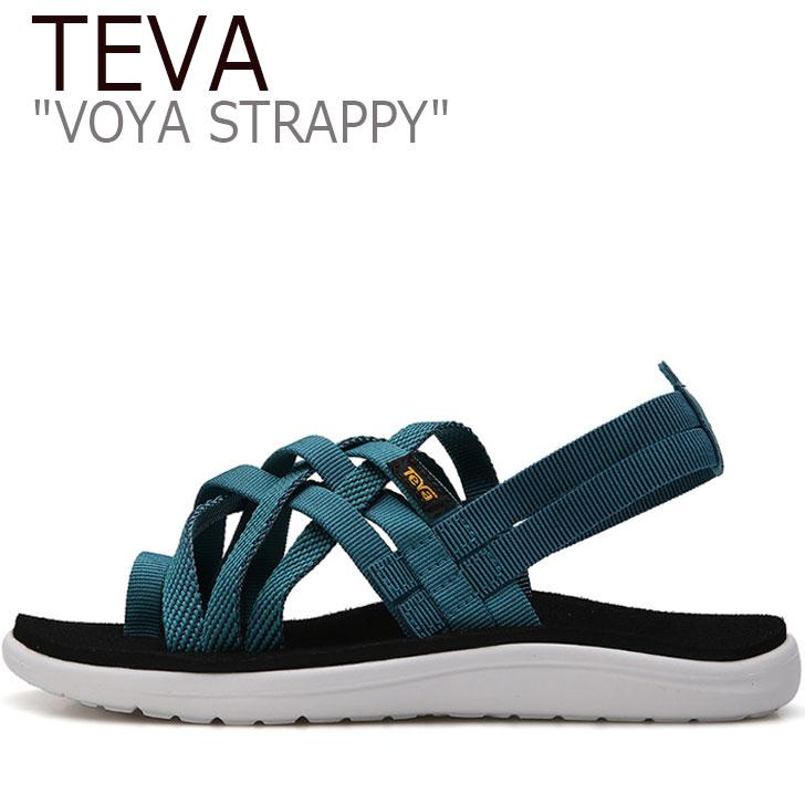 テバ ボヤ サンダル TEVA レディース VOYA STRAPPY ボヤ ストラッピー DEEP LAKE ディープレイク 1099271-HDLK シューズ