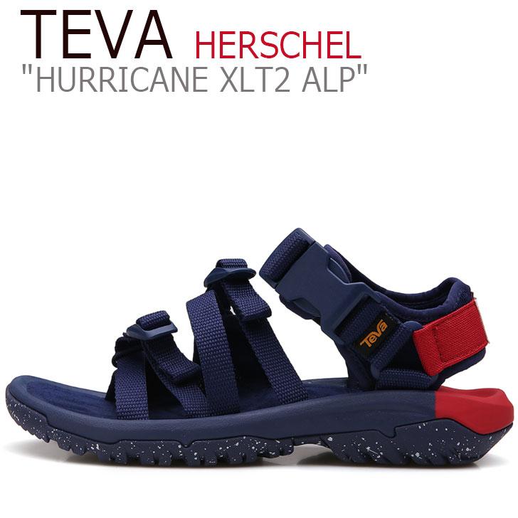 テバ ハリケーン サンダル TEVA メンズ HURRICANE XLT2 ALP HERSCHEL ハリケーンXLT2 アルプ ハーシェル NAVY ネイビー 1103370-NYR シューズ