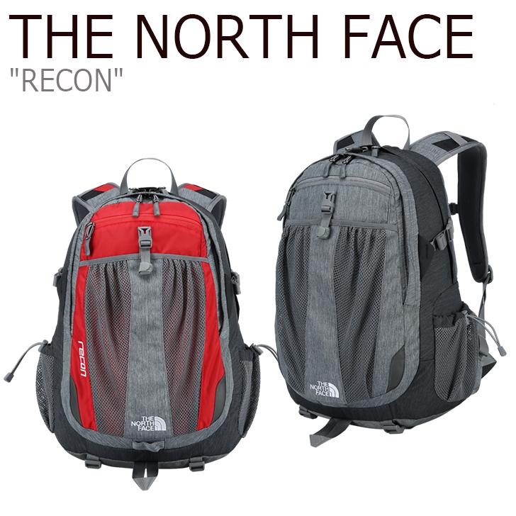 ノースフェイス バックパック THE NORTH FACE メンズ レディース RECON リコン デイパック RED MELANGE GRAY レッド グレー NM2DI55A/B バッグ 【中古】未使用品