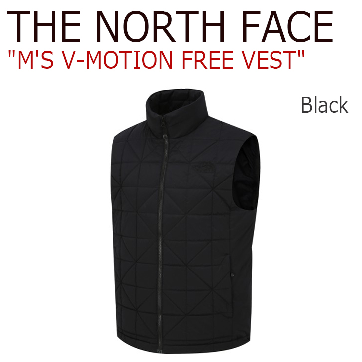 ノースフェイス ベスト THE NORTH FACE メンズ M'S V-MOTION FREE VEST V-モーション フリーベスト BLACK ブラック NV3NJ00A ウェア 【中古】未使用品