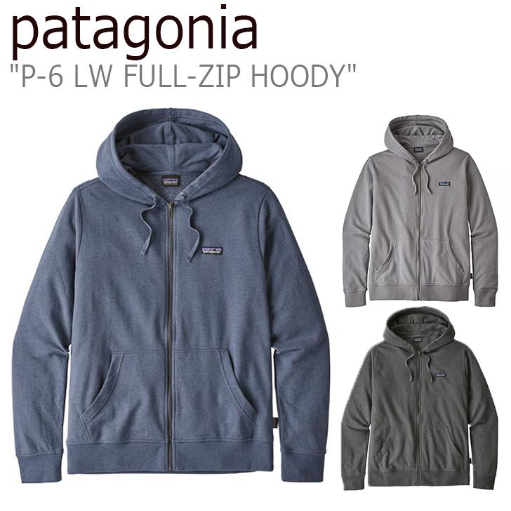 パタゴニア パーカ patagonia メンズ P-6 LW FULL-ZIP HOODY P-6 LW フルジップ フーディー GREY BLUE FEATHER GRAY グレー ブルー フェザーグレー 39547 ウェア