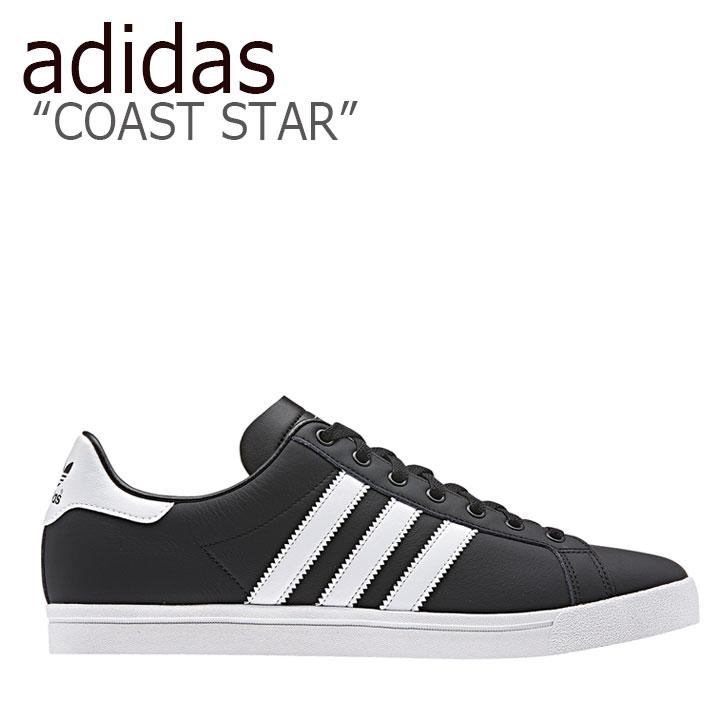 アディダス スニーカー adidas メンズ レディース COAST STAR コーストスター BLACK WHITE ブラック ホワイト EE8901 シューズ 【中古】未使用品