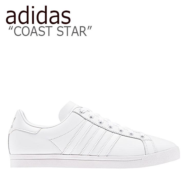 コーストスター アディダス メンズ STAR COAST シューズ adidas WHITE スニーカー ホワイト EE8903 レディース 【中古】未使用品