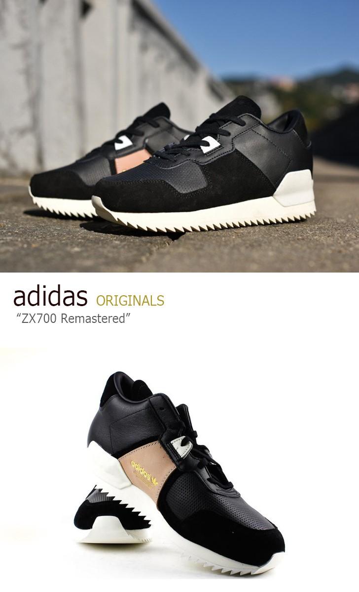 アディダス スニーカー adidas メンズ ORIGINALS ZX700 Remastered オリジナルス ZX700 リマスタード BLACK ブラック WHITE ホワイト S82520 シューズ 未使用品y7f6gb
