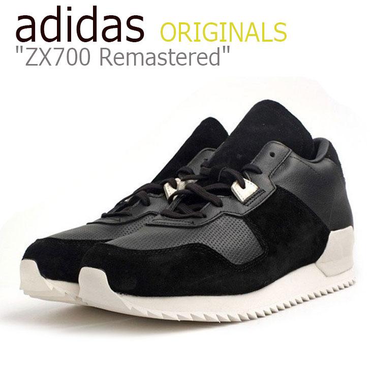 アディダス スニーカー adidas メンズ ORIGINALS ZX700 Remastered オリジナルス ZX700 リマスタード BLACK ブラック WHITE ホワイト S82520 シューズ 【中古】未使用品