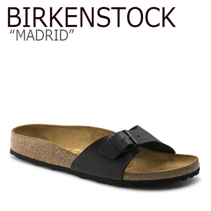 ビルケンシュトック サンダル BIRKENSTOCK レディース MADRID マドリッド BLACK ブラック 040793 シューズ 【中古】未使用品