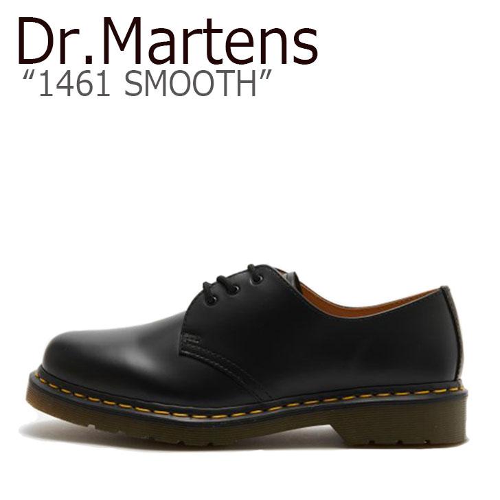 ドクターマーチン 3ホール Dr.Martens メンズ レディース 1461 SMOOTH スムース BLACK ブラック 11838002 シューズ 【中古】未使用品