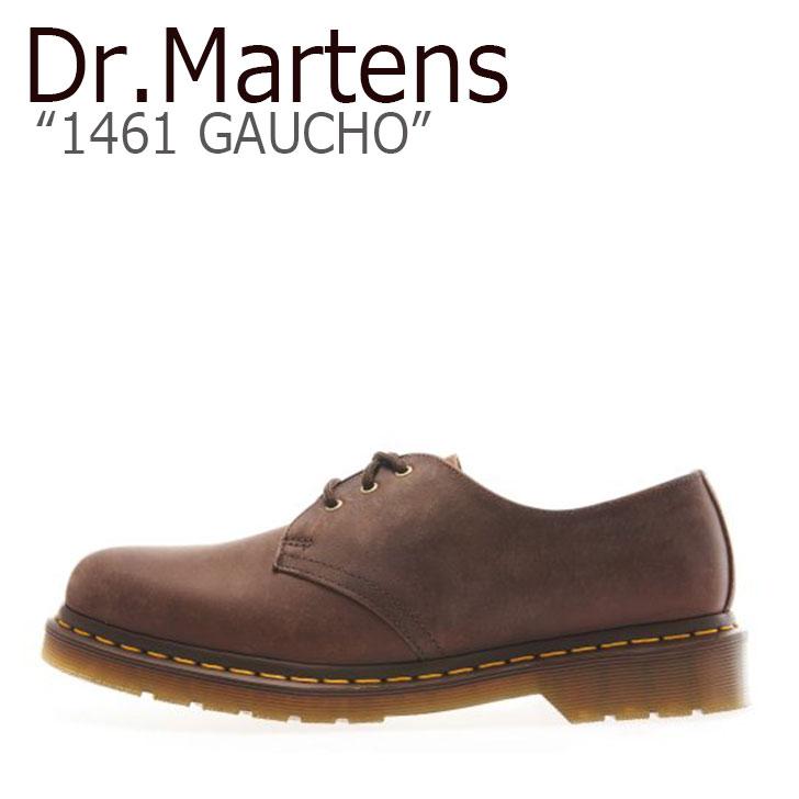 ドクターマーチン 3ホール Dr.Martens メンズ レディース 1461 GAUCHO ガウチョ BROWN ブラウン 11838201 シューズ 【中古】未使用品