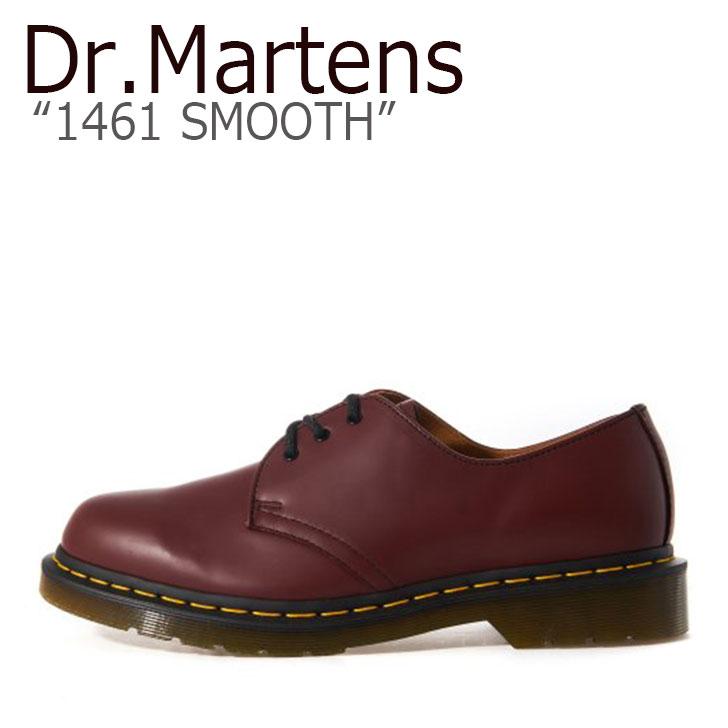 ドクターマーチン 3ホール Dr.Martens メンズ レディース 1461 SMOOTH スムース CHEERY RED チェリーレッド 11838600 シューズ 【中古】未使用品