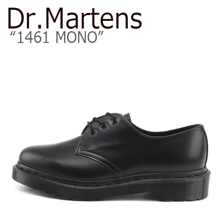 ドクターマーチン 3ホール Dr.Martens メンズ レディース 1461 MONO モノ BLACK ブラック 14345001 シューズ 【中古】未使用品