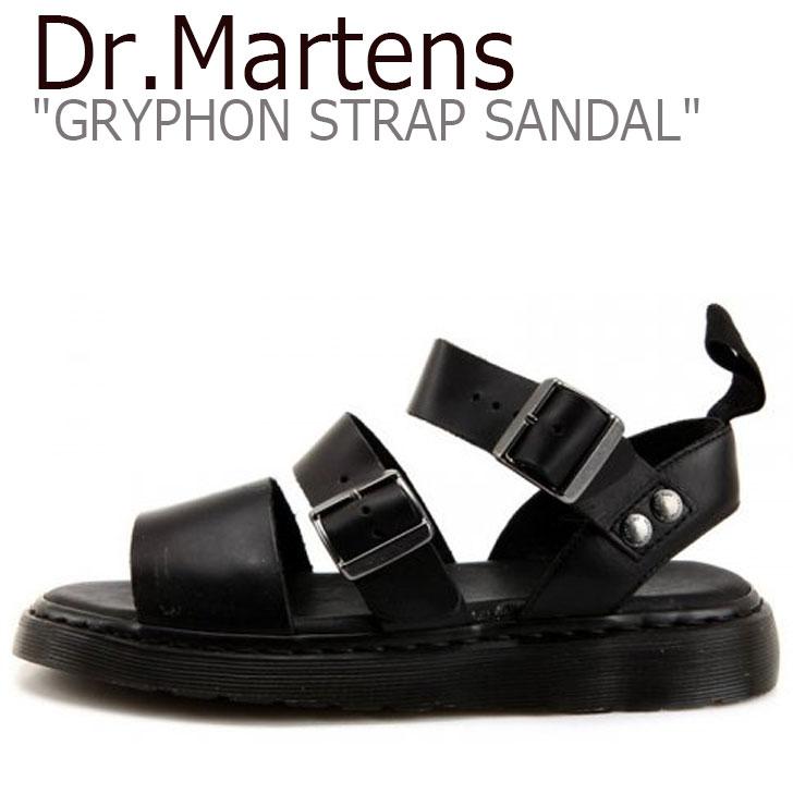 ドクターマーチン サンダル Dr.Martens メンズ レディース GRYPHON STRAP SANDAL グリフォン ストラップ サンダル BLACK ブラック 15695001 シューズ 【中古】未使用品