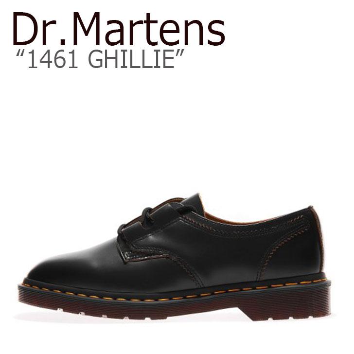 ドクターマーチン 3ホール Dr.Martens メンズ レディース 1461 GHILLIE ギリー BLACK ブラック 22695001 シューズ 【中古】未使用品