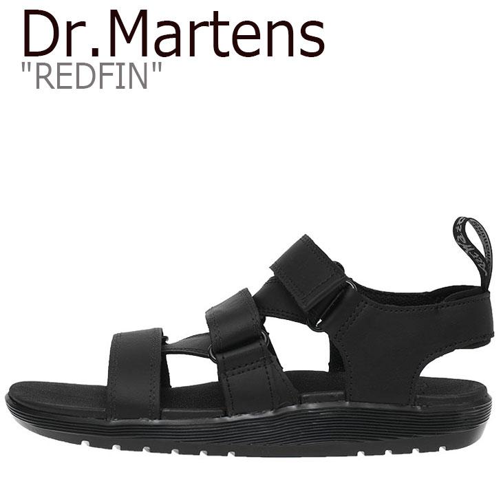 ドクターマーチン サンダル Dr.Martens メンズ レディース REDFIN レッドフィン BLACK ブラック 23483001 シューズ 【中古】未使用品