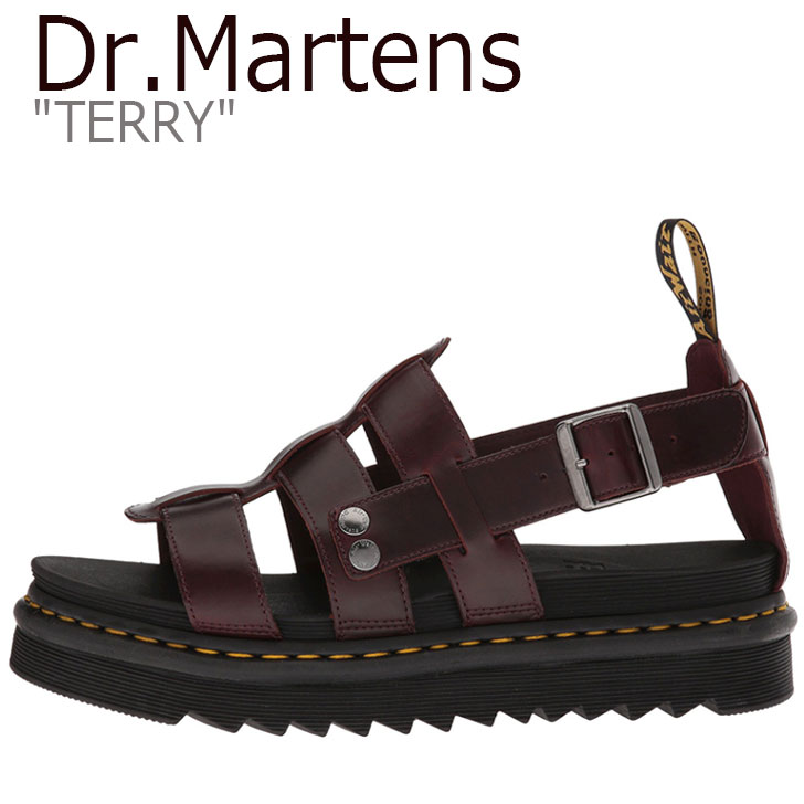 ドクターマーチン サンダル Dr.Martens レディース TERRY テリー BROWN ブラウン DMT23521211 23521211 シューズ 【中古】未使用品
