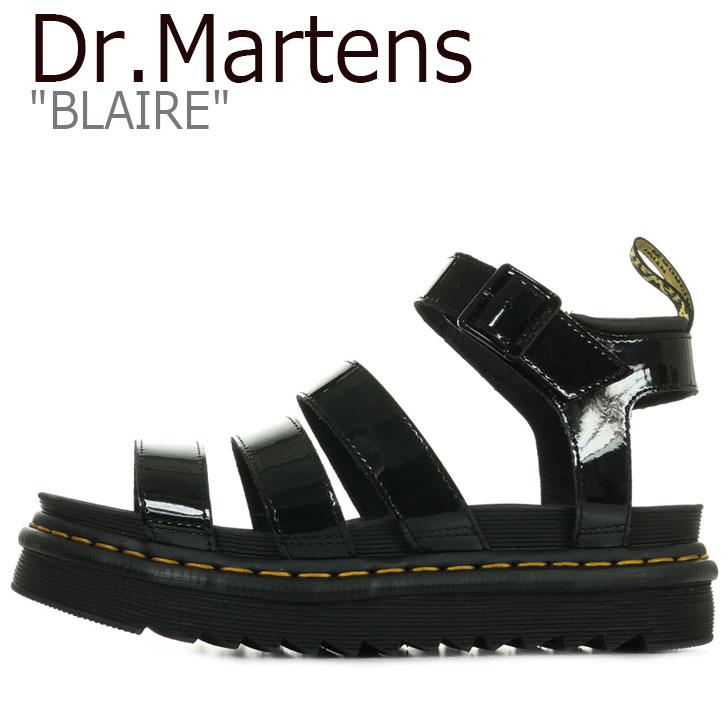 ドクターマーチン サンダル Dr.Martens メンズ レディース BLAIRE ブレア BLACK ブラック 24192001 シューズ 【中古】未使用品
