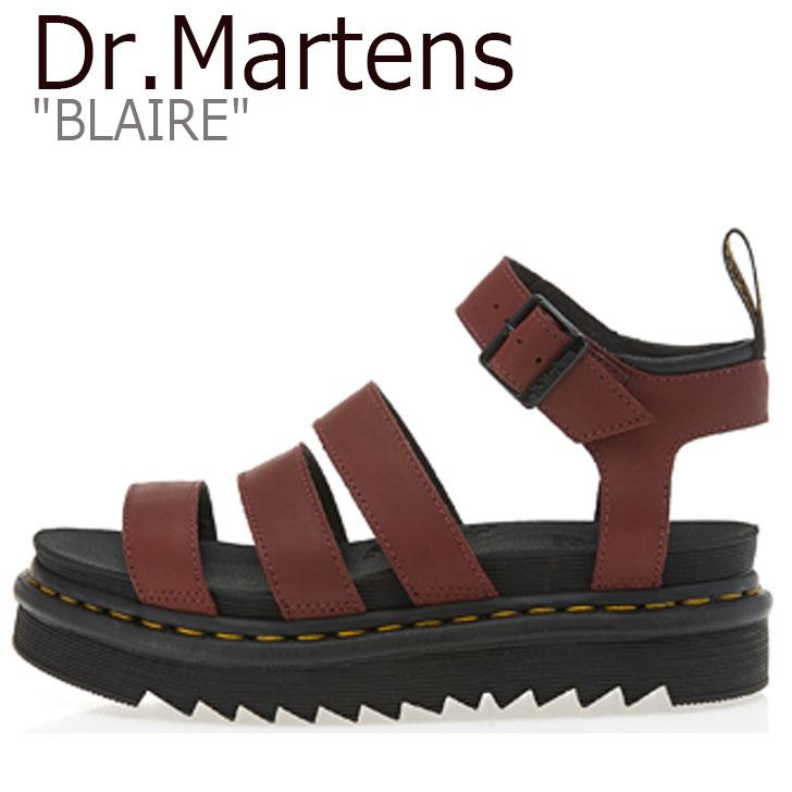 ドクターマーチン サンダル Dr.Martens レディース BLAIRE ブレア RED レッド DMT24194600 24194600 シューズ 【中古】未使用品