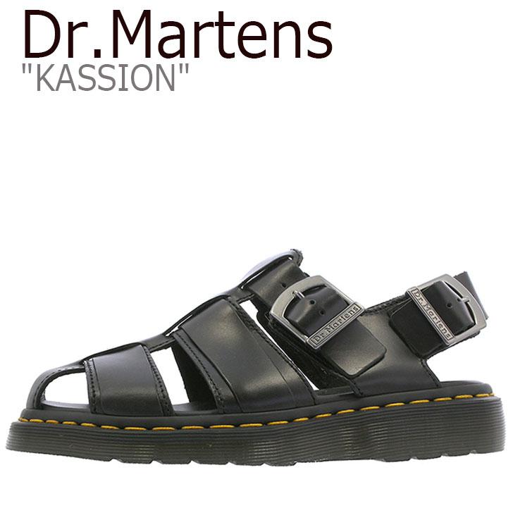 ドクターマーチン サンダル Dr.Martens メンズ レディース KASSION カシオン BLACK ブラック 24629001 シューズ 【中古】未使用品
