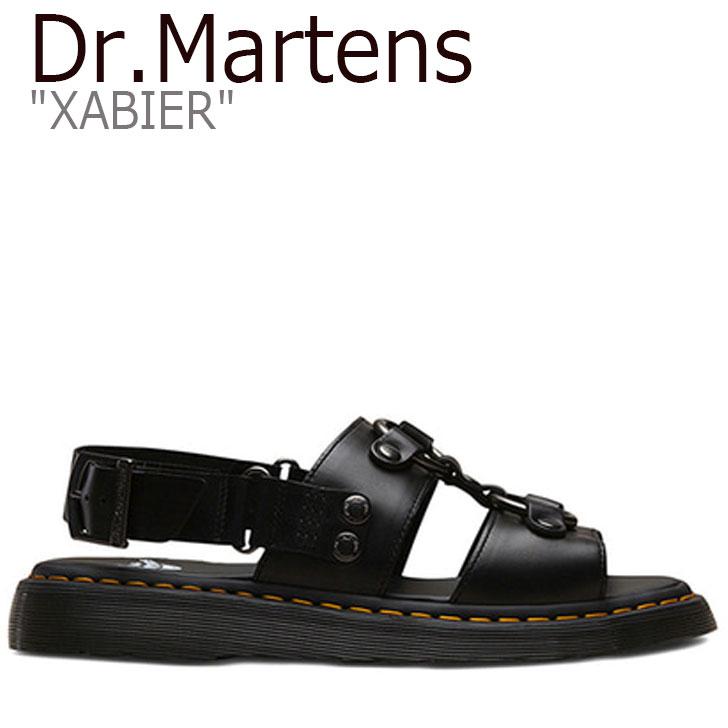 ドクターマーチン サンダル Dr.Martens メンズ レディース XABIER ザビエル BLACK ブラック 24630001 シューズ 【中古】未使用品
