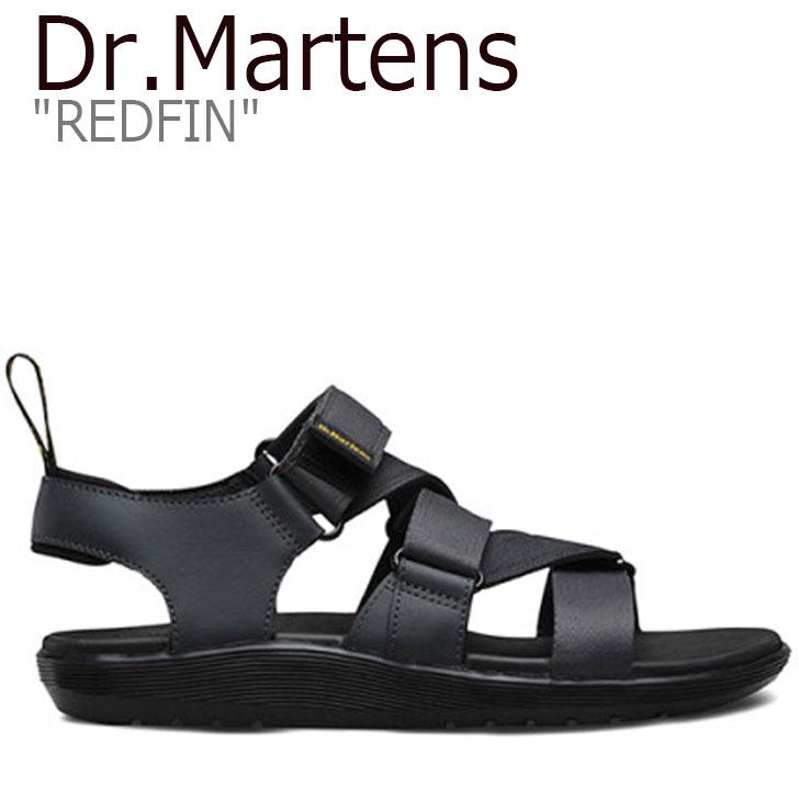 ドクターマーチン サンダル Dr.Martens メンズ レディース REDFIN レッドフィン GRAY グレー 24658020 シューズ 【中古】未使用品
