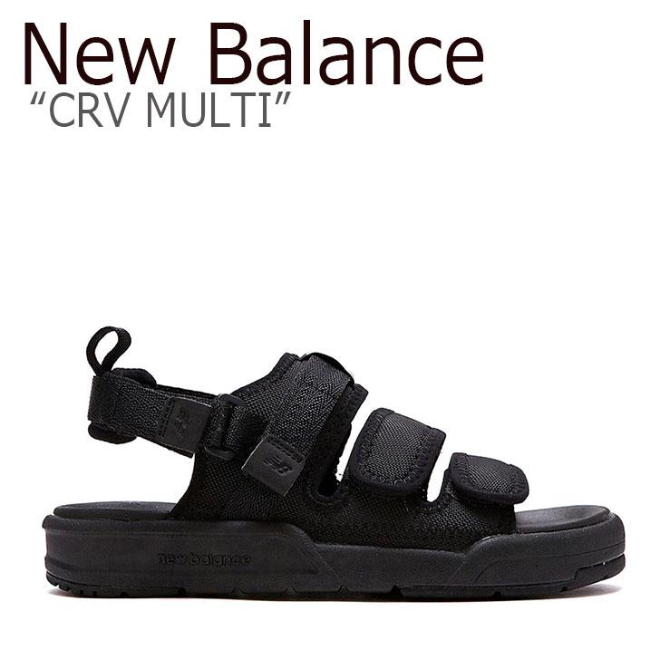 シューズ CRV Balance New ブラック BLACK SD メンズ 3205 MULTI レディース SD3205EBB サンダル EBB ニューバランス 【中古】未使用品