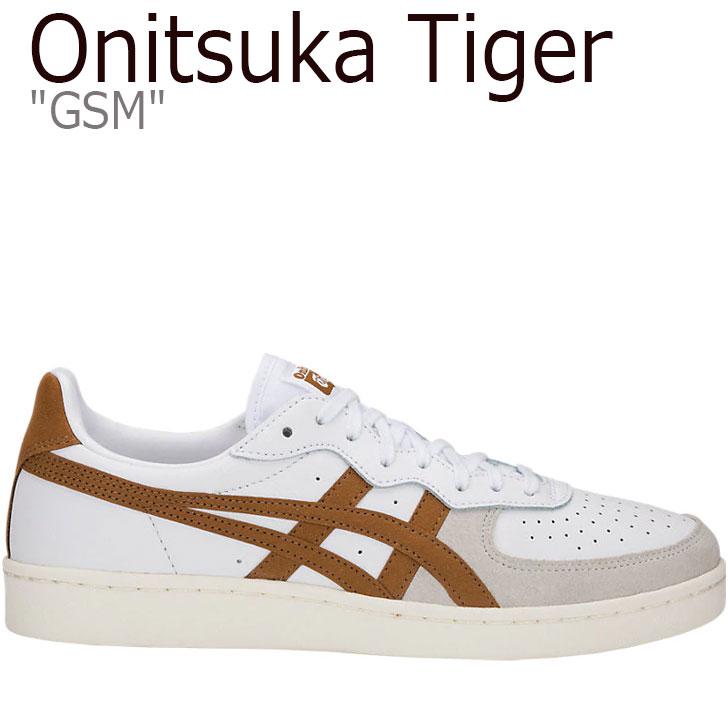 オニツカタイガー スニーカー Onitsuka Tiger メンズ レディース GSM ジーエスエム WHITE ホワイト BROWN ブラウン 1183A353-102 シューズ