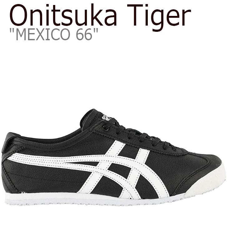 オニツカタイガー メキシコ66 スニーカー Onitsuka Tiger メンズ レディース MEXICO 66 メキシコ 66 BLACK ブラック WHITE ホワイト D508K-9001 シューズ
