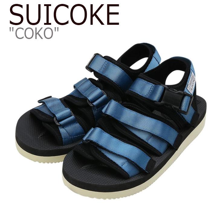 スイコック サンダル SUICOKE メンズ COKO ココ BLUE ブルー S1404SN05BL シューズ