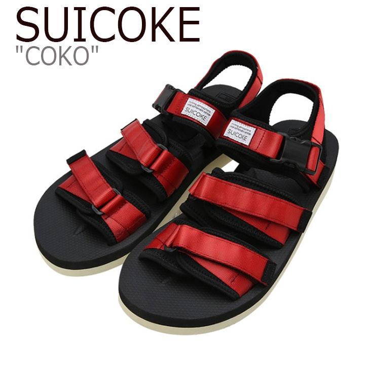 スイコック サンダル SUICOKE メンズ COKO ココ RED レッド S1404SN05RD シューズ