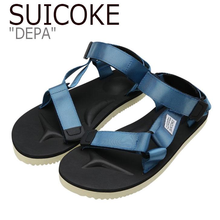 スイコック サンダル SUICOKE メンズ レディース DEPA デパ BLUE ブルー S1404SN11BL シューズ