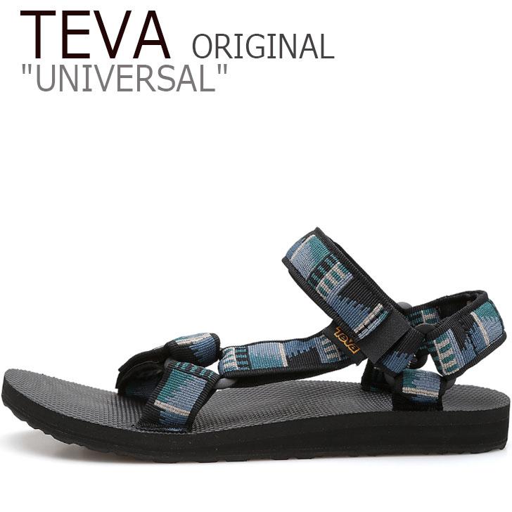 テバ ユニバーサル サンダル TEVA メンズ ORIGINAL UNIVERSAL オリジナル ユニバーサル PEAKS BLACK ピークス ブラック 1004006-PSBC シューズ