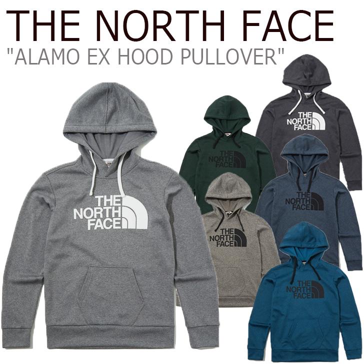 ノースフェイス パーカ THE NORTH FACE メンズ レディース ALAMO EX HOOD PULLOVER アラモ フードプルオーバー 全6色 NI5PK51J/K/L/M/N/O ウェア 【中古】未使用品